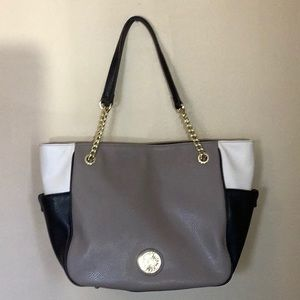 Anne Klein TriColor  Large Shoulder Bag